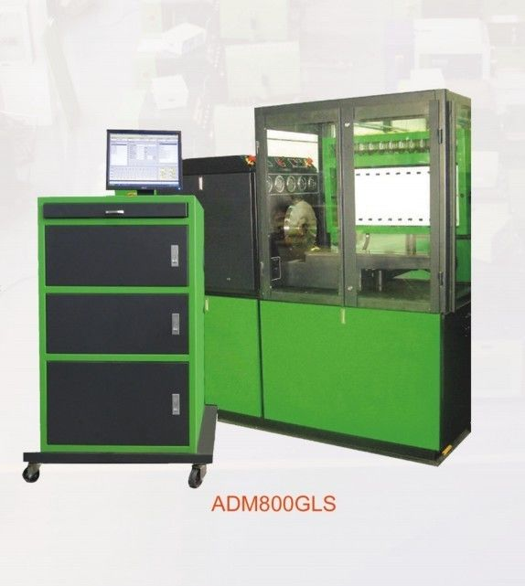 ADM800GLS, 11Kw/15Kw/18.5Kw/22Kw,Common Rail System Test Bench and Mechanical Fuel Pump Test Bench, measuring with cups